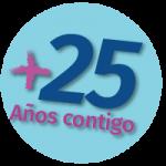 + 25 años contigo